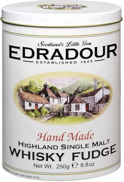 Gardiners Edradour Whisky Fudge, 250 g, Geschenkdose