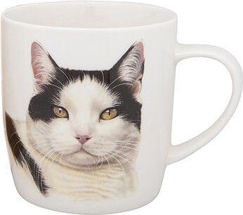 Becher Cat Black and White