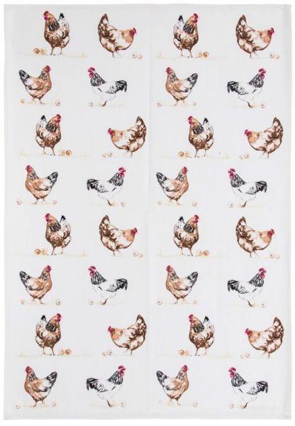 Geschirrtuch Chickens - Hühner