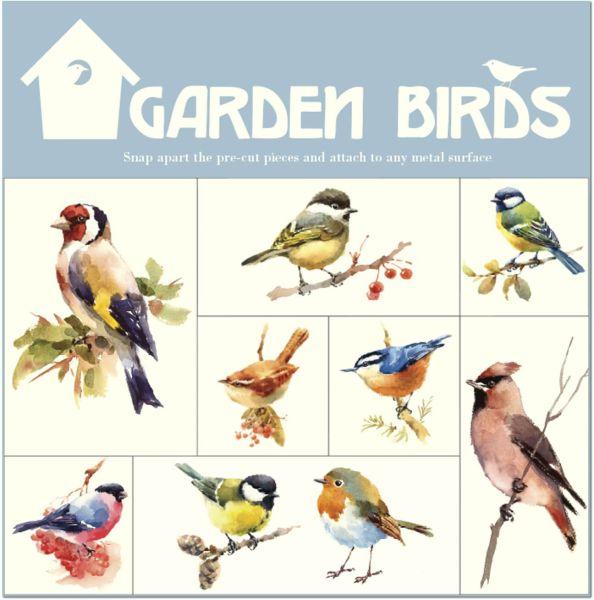 Magnet-Set Garden Birds – Gartenvögel