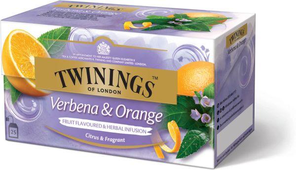 Twinings Verbena & Orange Tee, 25 Teebeutel (37,5 g)