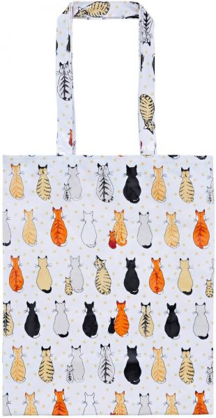 Schultertasche Cats in Waiting, Ulster Weavers