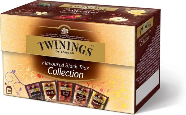 Twinings Flavored Black Teas Collection, 20 Teebeutel (40 g)