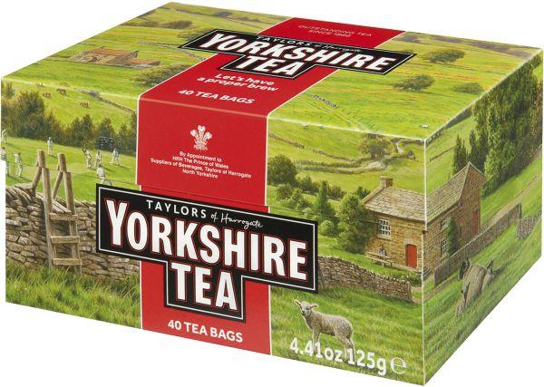 Yorkshire Tea, 40 Teebeutel (125 g)