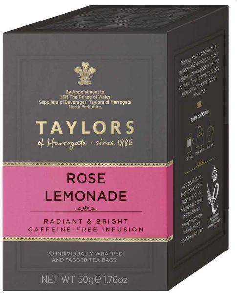 Taylors of Harrogate Rose Lemonade, 20 Teebeutel (50 g)