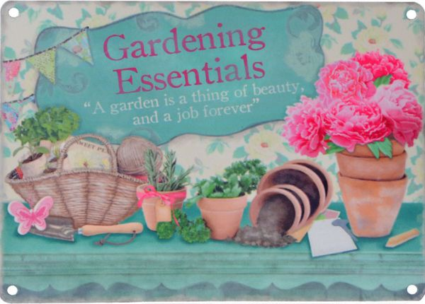Schild Gardening Essentials