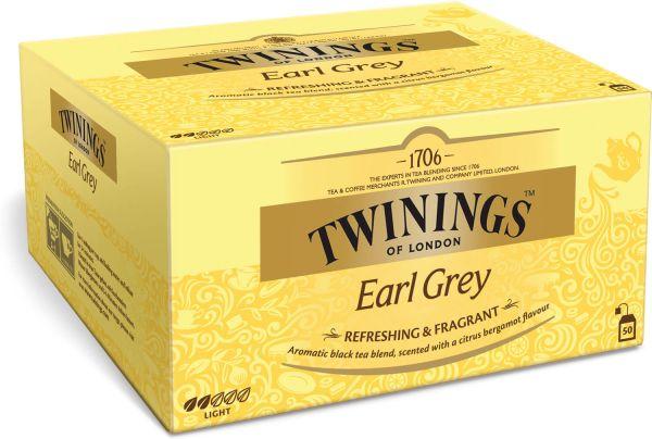 Twinings Earl Grey Tee, 100 Teebeutel (200 g)