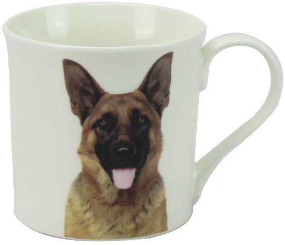 Becher Deutscher Schäferhund, Portrait