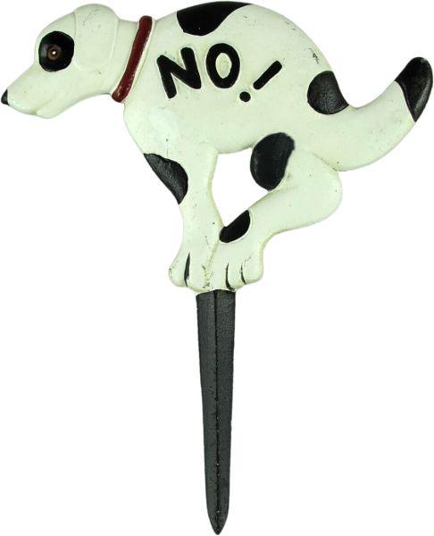 Schild NO! (Hier bitte nicht!), Eisen