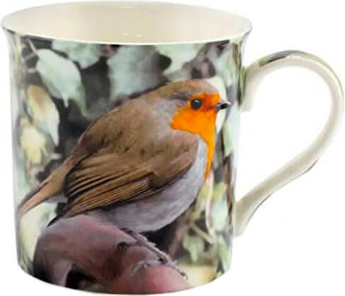 Becher Rotkehlchen – Robin
