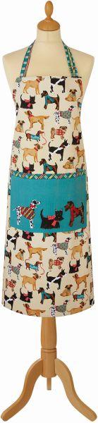 Küchenschürze Hound Dogs, Baumwolle, Ulster Weavers