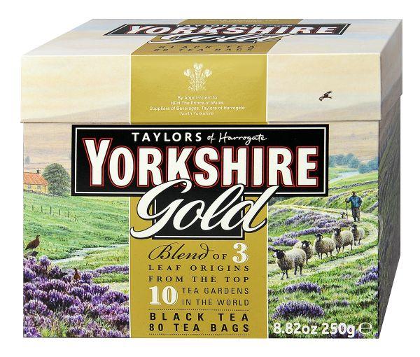 Yorkshire Gold Tea, 80 Teebeutel (250 g)