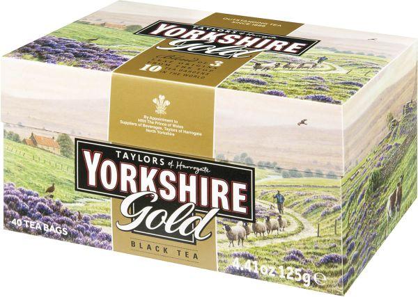 Yorkshire Gold Tea, 40 Teebeutel (125 g)