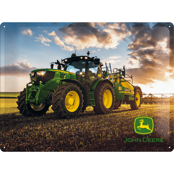 Schild John Deere 6150R Traktor