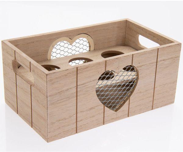Eierständer Herz, Holz