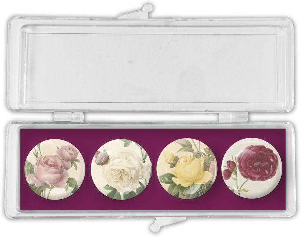 Glas-Magnete Roses – Rosen
