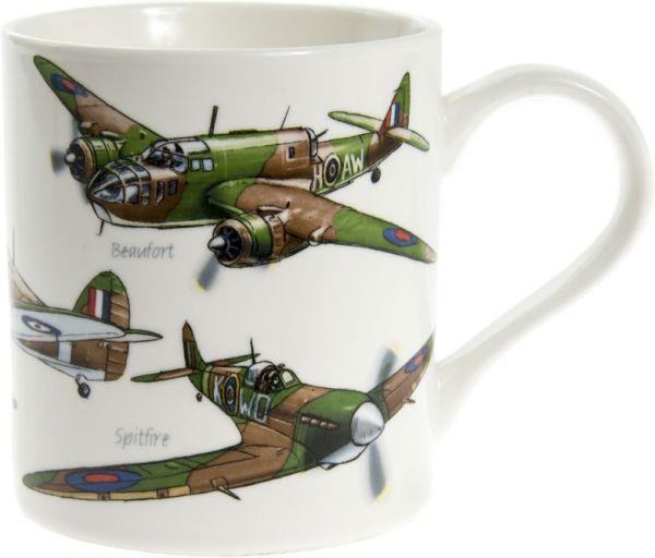 Becher Klassische Flugzeuge