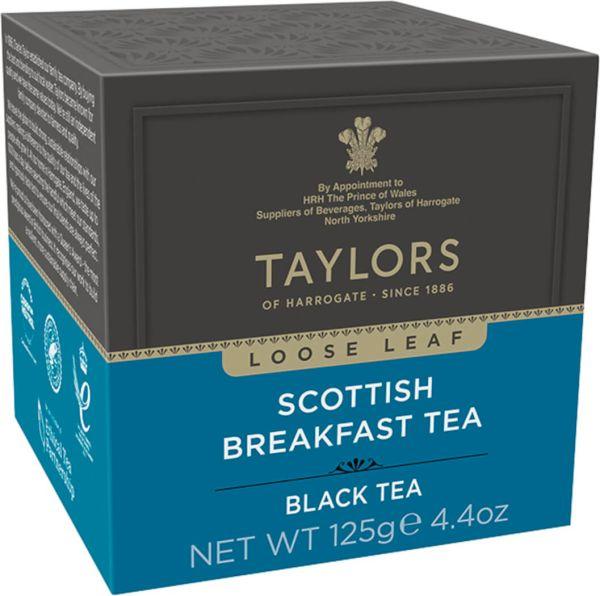 Taylors of Harrogate Scottish Breakfast Tea, loser Tee, 125 g