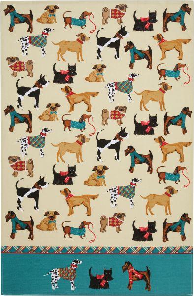 Geschirrtuch Hound Dogs, Ulster Weavers