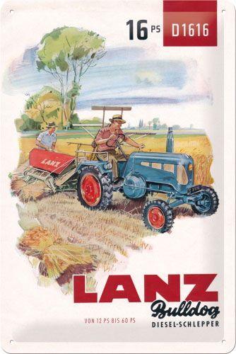 Schild Lanz Diesel-Schlepper
