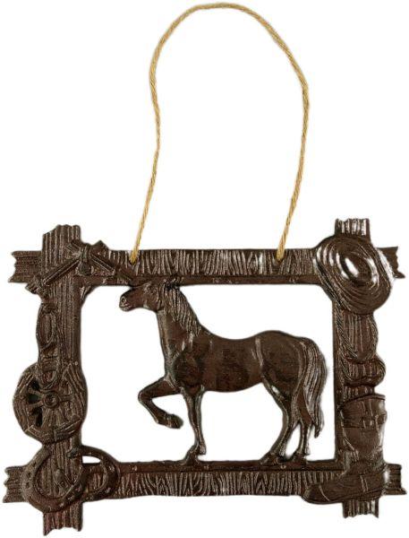 Wandrelief Country Horse, Eisen