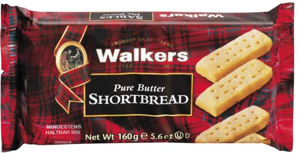 Walkers Shortbread Fingers, 160 g