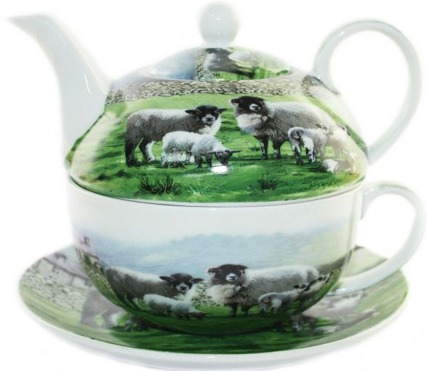 Tee-Service The Country Sheep für eine Person