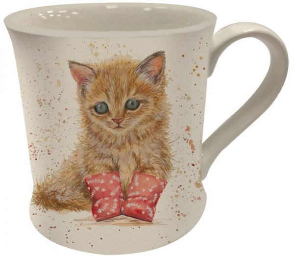 Becher Kätzchen Marmalade in Gummistiefeln, Bree Merryn