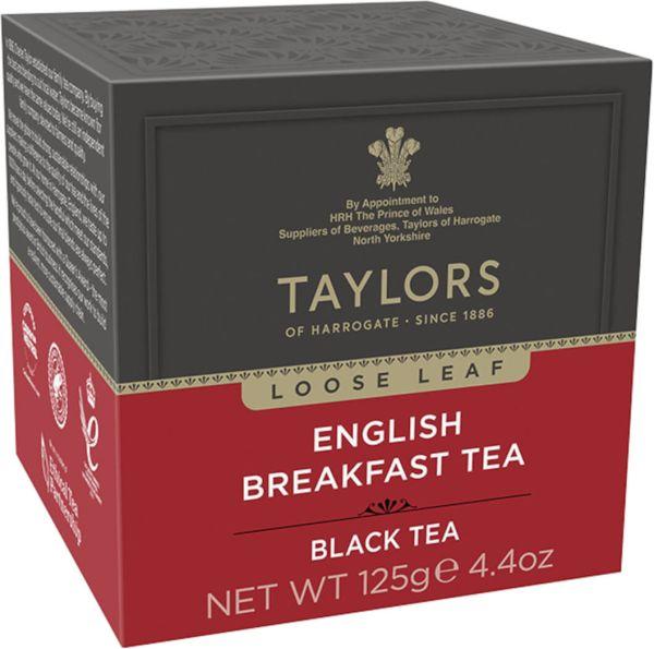 Taylors of Harrogate English Breakfast Tea, loser Tee, 125 g