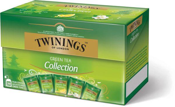 Twinings Green Tea Collection, 20 Teebeutel (34 g)