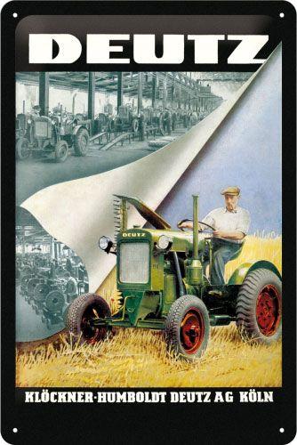 Schild DEUTZ Traktoren