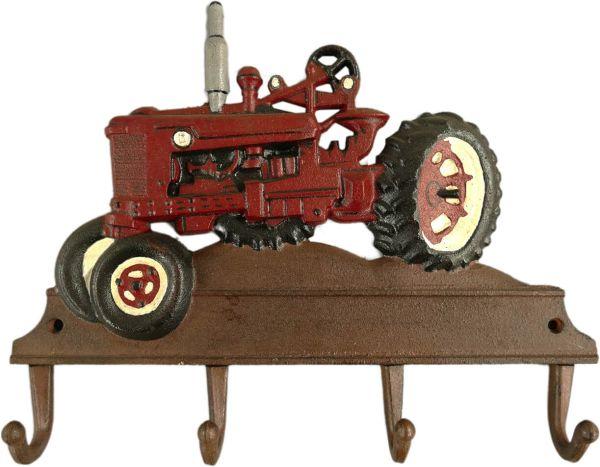 Hakenleiste Roter Traktor, Eisen