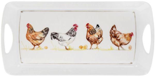 Tablett Chickens – Hühner
