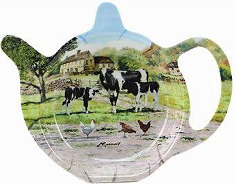 Teebeutel-Ablage Kühe