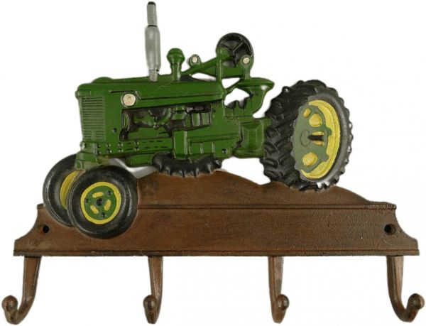 Hakenleiste Grüner Traktor, Eisen