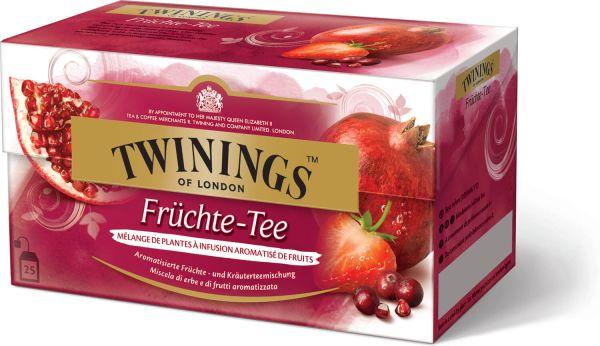 Twinings Früchte-Tee, 25 Teebeutel (50 g)