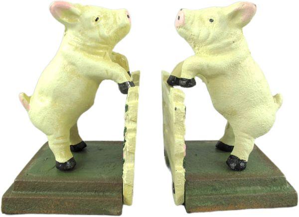 Buchstützen Little Piggies