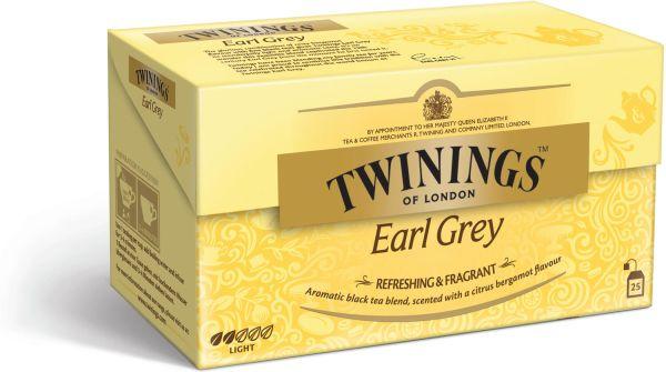 Twinings Earl Grey Tee, 25 Teebeutel (50 g)