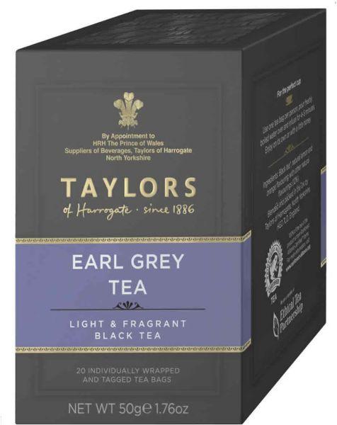 Taylors of Harrogate Earl Grey Tea, 20 Teebeutel (50 g)