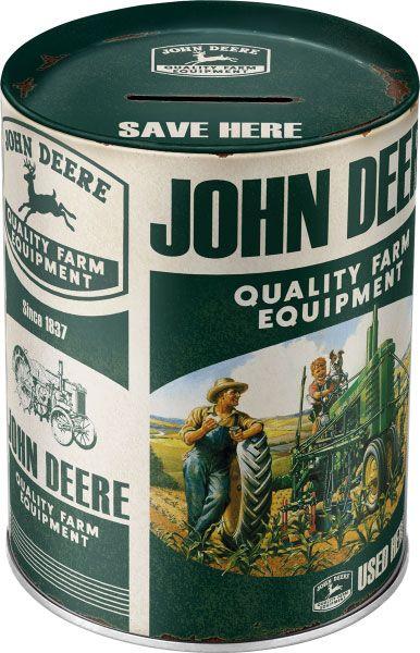 Spardose John Deere Quality Farm Equipment