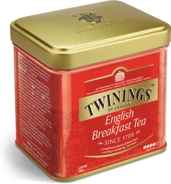 Twinings English Breakfast Tee, loser Tee, Dose (100 g)