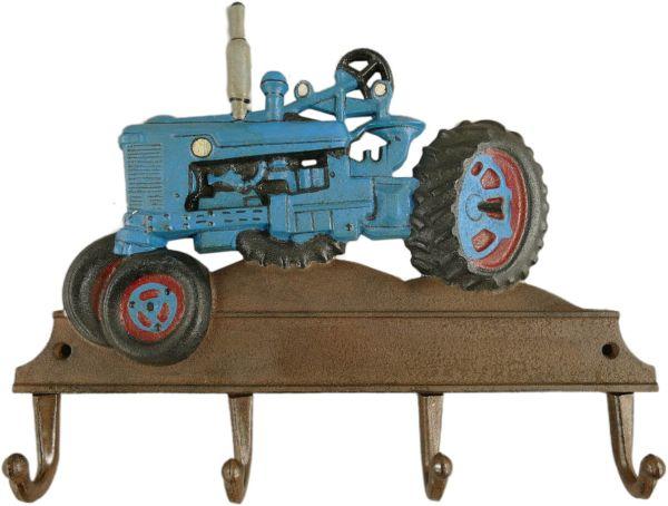 Hakenleiste Blauer Traktor, Eisen