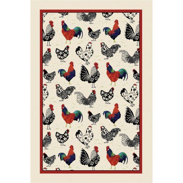 Geschirrtuch Rooster, Ulster Weavers