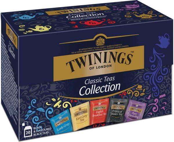Twinings Classic Teas Collection, 20 Teebeutel (40 g)