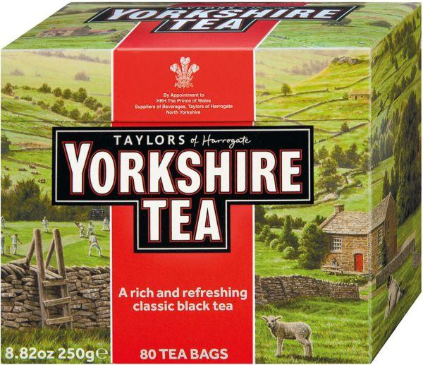 Yorkshire Tea, 80 Teebeutel (250 g)