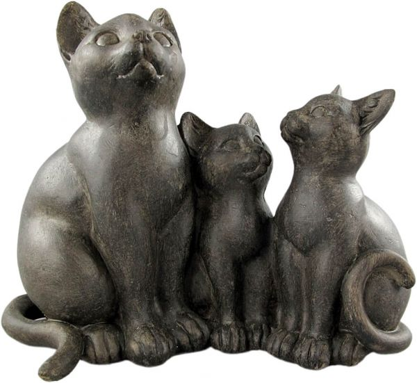 Figur Katzenfamilie