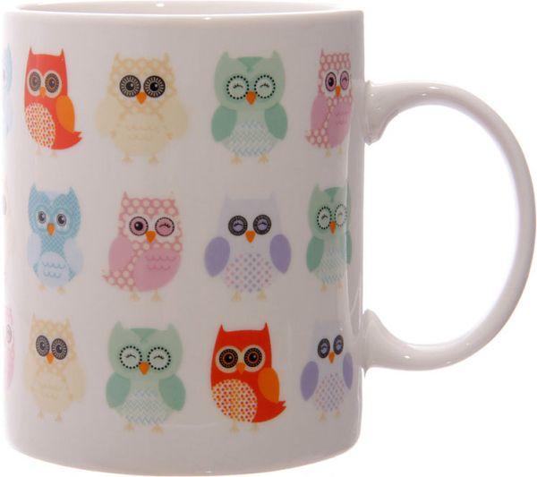 Becher Dotty Owls