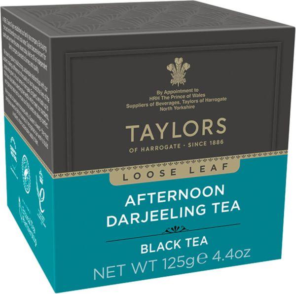 Taylors of Harrogate Afternoon Darjeeling Tea, loser Tee, 125 g