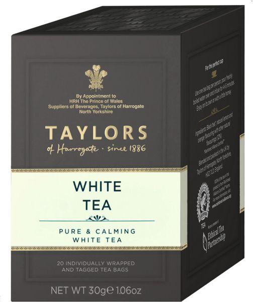 Taylors of Harrogate White Tea, 20 Teebeutel (30 g)